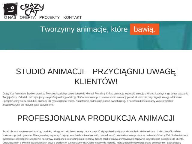 Studio animacji • Crazy Cat Studio